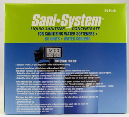 Sani-System Sanitizer (24 Count)
